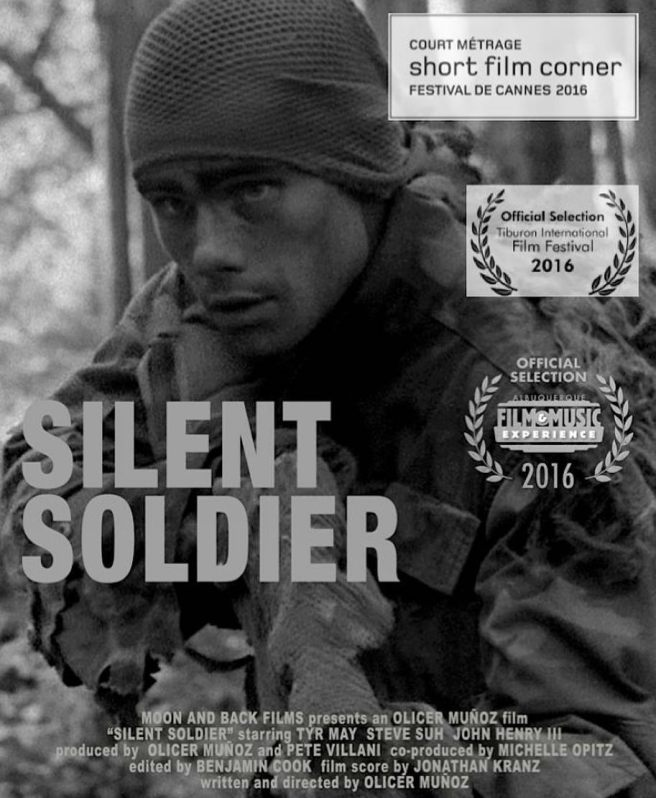 """Short Film Corner – Cannes Film Festival 2016 – """"Silent Soldier,"""" a short film performed by Marine Corps Scout Snipers, is a heroic and cinematic story that ..."""
